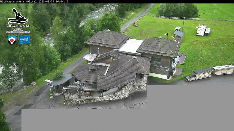Livecam Wildwasserarena Hüttnwirt