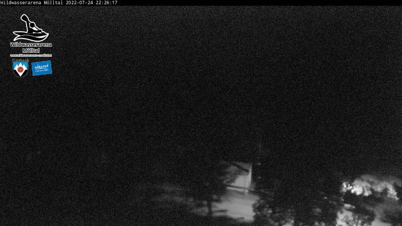Livecam White Water Arena Mölltal - waves